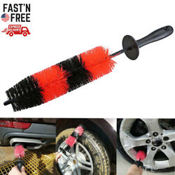 Car Wheel Brush Rims Tire Seat Engine Wash Cleaning Kit Auto Detailing Tool 17quot; $7.99