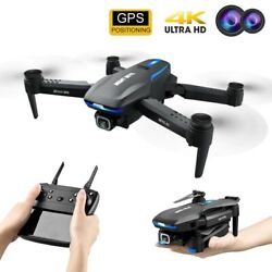 2021 4K Drone with Camera GPS HD 5G WIFI for Foldable RC Quadcopter Drones New $145.20