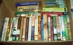 Lot of 5 lbs Books CHRISTIAN ROMANCE Historical Inspirational AMISH Softcover $9.99
