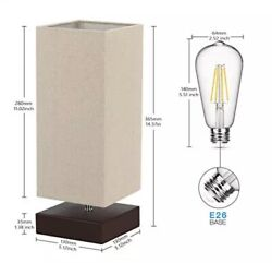 Touch Control Table Lamp Bedside 3 Way Dimmable Touch Desk Lamp Modern Lamp with $30.00