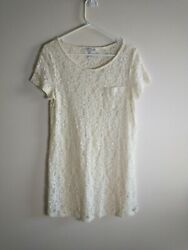 Forever 21 Lace Cover Dress Size Medium $10.00