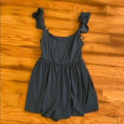 Urban outfitters blue long sleeveless top $16.99