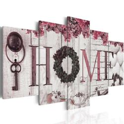 5PCS Concise Wall Paintings Home Letter Printed Photo Art Wedding Fashion Decor $13.99