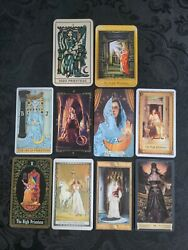 10 *The HIGH PRIESTESS* Coordinated Tarot Cards *All Different* $24.95