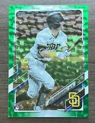 2021 Topps Series 2 Base Card Green Foil Parallel ##x27;d 399 Pick your Card $9.99
