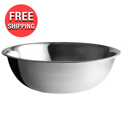 Heavy Duty EXTRA LARGE Commercial Kitchen 30 Quart Stainless Steel Mixing Bowl