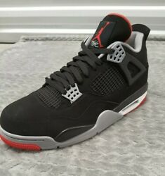 1 Shoe Nike Air Jordan 4 Retro Bred 2019 Size 12 Mens Amputee Left Shoe Only $168.00