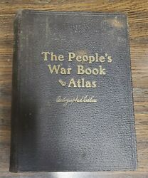 The People#x27;s War Book and Atlas Autographed Edition 1920 SIGNED $24.99