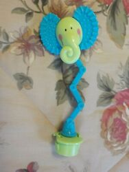 Evenflo Mega Circus Exersaucer Elephant Head Toy Teether Replacement Part $10.99