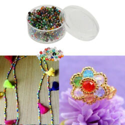 Pony Seed Beads Assorted Color Spacer Mini Beads Bulk for Jewelry Making $6.69