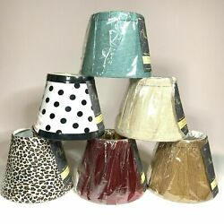 Empire Chandelier Clip On Lamp Shade 3.5quot;x 5quot;x 4quot; **USA**New**BUY MORE amp; SAVE** $5.99
