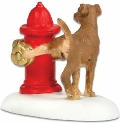 Paws and Refresh Department 56 Village Accessories 800010 Christmas dog Z $14.99