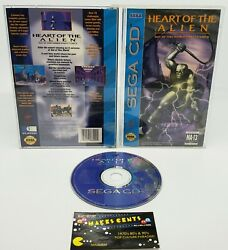 1994 Sega CD Heart Of The Alien Out Of This World Parts I and II Complete $153.98