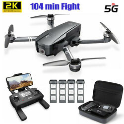 Holy Stone HS720 RC Drone 4K Camera FPV GPS Foldable Quadcopter 2 3 4 Batteries $219.99