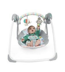 Baby Swing Portable cradle infant bouncer rocker sway toddler chair rocking seat $44.99