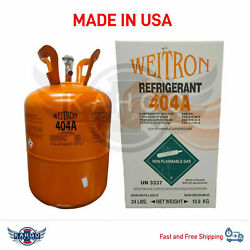 R404a REFRIGERANT GAS 24LB FACTORY SEALED * MADE IN USA * $265.99