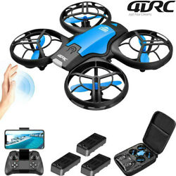 V8 RC Drone with Camera for Adults Wifi FPV Drone 1080P HD for Kids induction $28.90