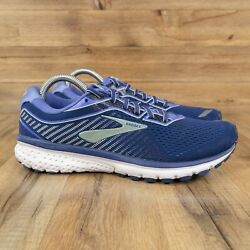 Brooks Ghost 12 Womens Running Shoes Size 10 Blue 1203051B413 $29.69