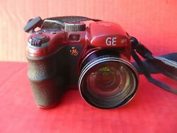 GE DIGITAL CAMERA X5 15X Optical Wide Zoom 14.1mp Power Pro Series With Strap x $35.99