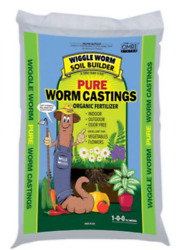 Wiggle Worm WWSB30LB Unco Industries Builder Worm Castings 30 lb Compost Soil $36.50