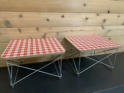 Modernica Eames Case Study Low Wire Table pair $440.00