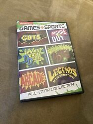 Nickelodeon Games Sports All Star Collection DVD 2014 Double Dare Guts Arcade $17.95