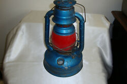 DIETZ LANTERN NO. 100 EMBOSSED quot;CITY OF L.A.quot; ORIGINAL RED GLOBE $40.00