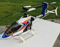 Vintage HIROBO Super Performance 50 Large R C Gas Helicopter NICE LOOKING $699.95
