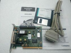 PCI To Fast SCSI Hot Adapter Model AHA 2920 By Adaptec cable and driver. $24.99
