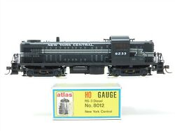 HO Scale KATO Atlas 8012 NYC New York Central RS3 Diesel Locomotive #8233 $89.95