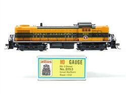 HO Scale KATO Atlas 8153 GN Great Northern RS3 Diesel Locomotive #232 $89.95