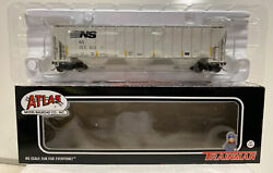 Atlas HO Scale RTR NS Norfolk Southern 4750 Covered Hopper Car #253003 $24.99