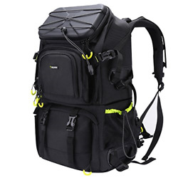 Endurax Extra Large Camera DSLR SLR Backpack for Outdoor Hiking Trekking with $157.65