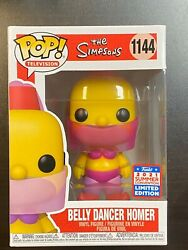 IN HAND FUNKO POP THE SIMPSONS BELLY DANCER HOMER FUNKON SUMMER EXCLUSIVE SDCC $34.94