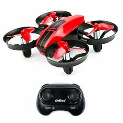 UDI U46 Mini Drone for Kids 2.4Ghz RC Drones with Auto Hovering Headless Red $38.26