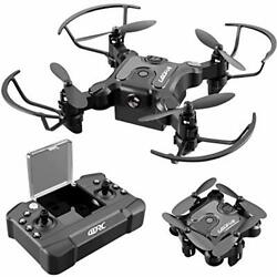 4DRC V2 Foldable Mini Nano Drone for Kids Toys GiftPocket RC Quadcopter with $39.97