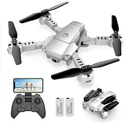 Snaptaⅰn A10 Mini Foldable Drone with 1080P HD Camera FPV WiFi RC Quadcopter $74.34
