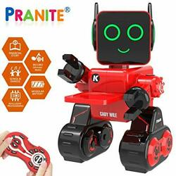 Robot Toy Remote Control Robot Toy for Kids Intelligent Programming RC Red $90.63