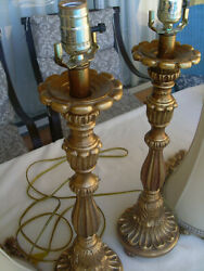 Pair table lamps $60.00