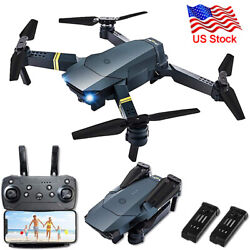 FPV Wifi Drone RC Quadcopter HD Camera Aircraft Foldable Wifi 4K Selfie2Battery $48.99