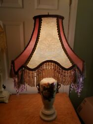 Victorian French Large Floor Table Lamp Shade quot;Rose Elegancequot; quot; $229.00