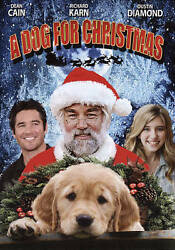 A Dog for Christmas DVD 2015 Ex Library **DISC ONLY** $5.95