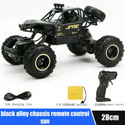 28cm Large Remote Control RC Kids Big Wheel Toy Car Monster Truck 2.4 GHz US $27.76