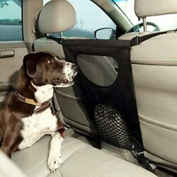 GoodStore Dog Car Net Barrier Pet Barrier with Auto Safety Mesh Organizer Baby $23.19