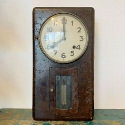 Meiji clock wall hanging antique early Showa WW2 Made in Occupied Japan JUNK $148.63