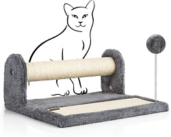 """PAWBEE Cat Scratching Post amp; Scratching Pad – 14.5"""" Cat Post amp; Scratching Board $23.99"""