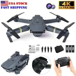 4K HD Quad Air Drone Camera Foldable RC Drone Toy for Adult Christmas Kids Gifts $59.49