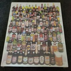 99 Bottles Of Beer On The Wall Over 550 Piece Vintage Jigsaw Puzzle New amp; Sealed $16.99