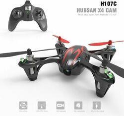 HUBSAN X4 4 Channel 2.4GHz RC Mini QuadCopter with Camera Red Black $39.99