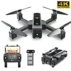 Holy Stone HS550 Brushless 4K Drone HD Camera FPV GPS Quadcopter Foldable $139.59